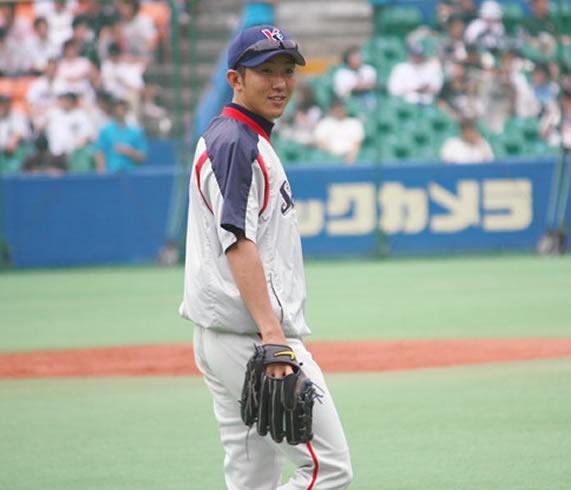 活躍する加藤選手